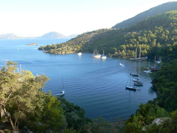 A Photo of Fethiye marmaris mini cruise route
